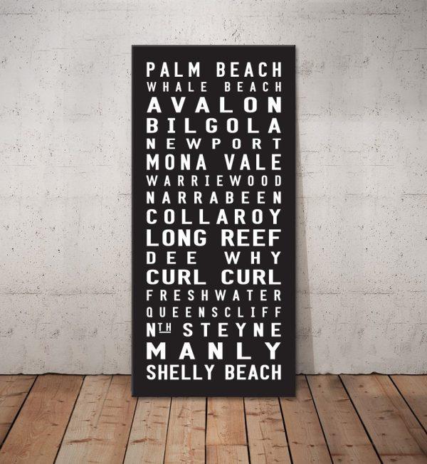 Palm Beach contemporary Canvas Wall Art