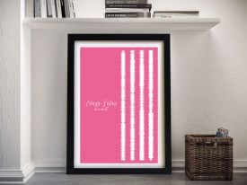 Single Ladies Soundwaves Canvas