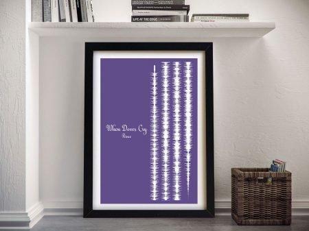 Prince Soundwave Wall Art
