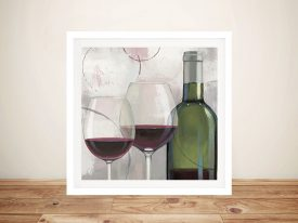 Taste Appeal Red ll Canvas Prints