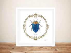 Adorning Coleoptera V Canvas Art
