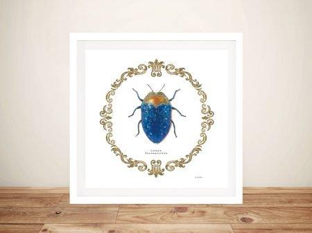 Adorning Coleoptera V Canvas Art