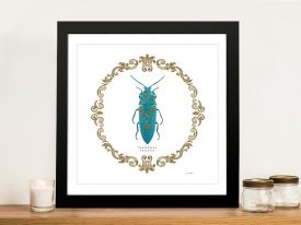 Adorning Coleoptera VIII Framed Wall Art