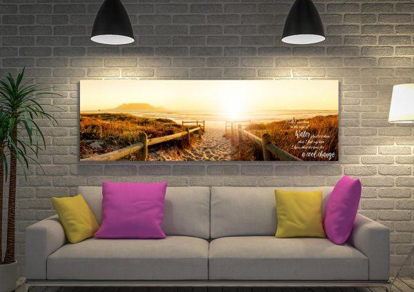 Buy Beach Pathway Canvas Wall Art Online