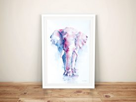 An Elephant Never Forgets Canvas Prints