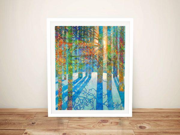 After the Snow Fell Iris Scott Print Framed Picture Art