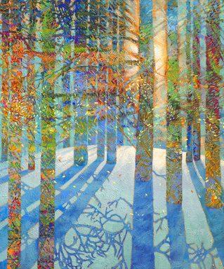 After the Snow Fell Iris Scott Photo Canvas Print Art