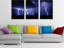 Fingers Of God Triptych Wall Art