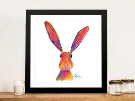All Ears Curious Bunny Artwork