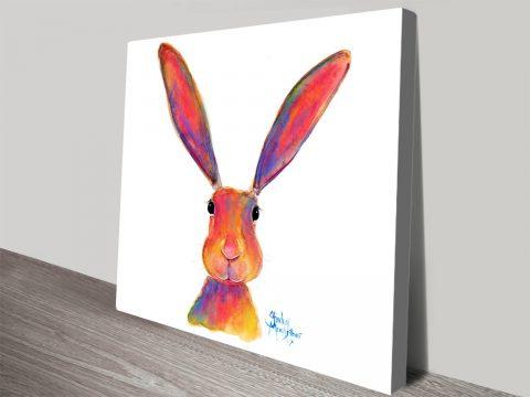 All Ears Sweet Rabbit Wall Art By Shirley MacArthur