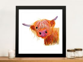 Angus By Shirley MacArthur Highland Cow Gift Ideas