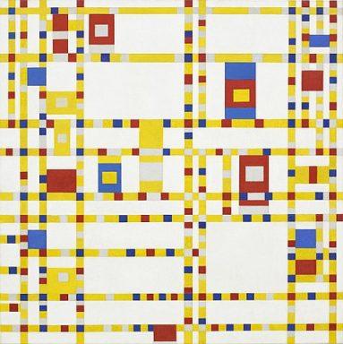 Broadway Boogie Woogie Piet Mondrian Artwork Print