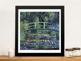 Water-Lily Pond By Claude Monet Classic Prints