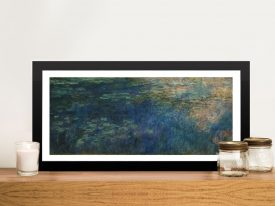 Reflections of Clouds on the Water-Lily Pond Classic Art