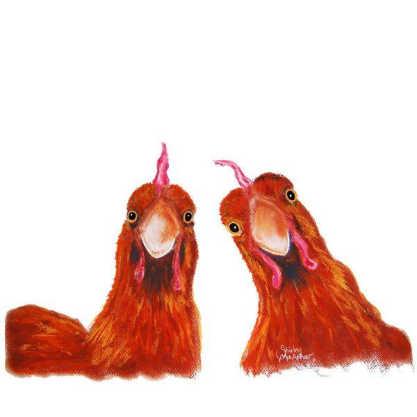 Harriet & Humbug By Shirley MacArthur Canvas Artwork Australia