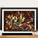 Jackson Pollock – The Flame