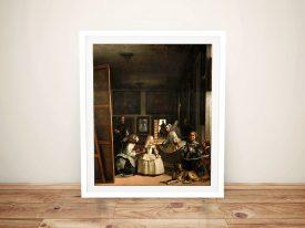 Las Meninas by Velazquez Wall Art Online