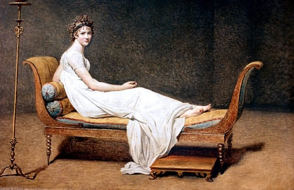 For Sale Madame Récamier By Jacques Louis David Wall Art Online