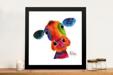 Mr Hippy Framed Canvas Art