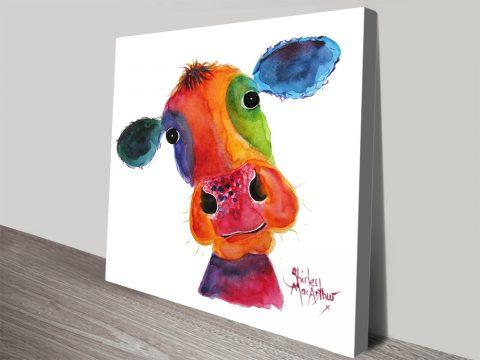 Mr Hippy canvas print