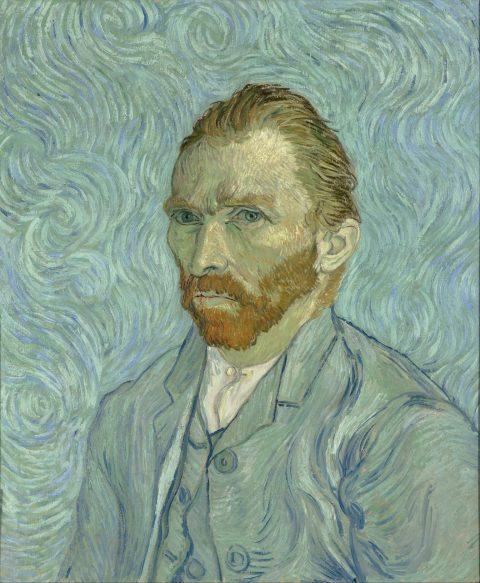 Van Gogh Self Portrait Canvas Print