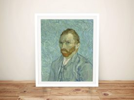 Vincent Van Gogh Portrait Framed Art