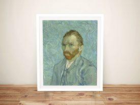 Vincent Van Gogh Portrait Framed Art