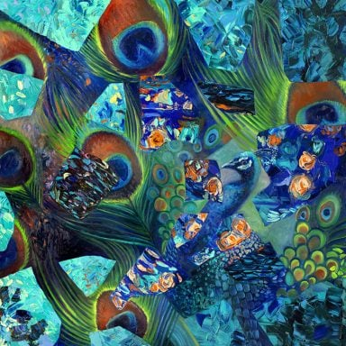 Iris Scott Mayura Canvas Artwork Australia