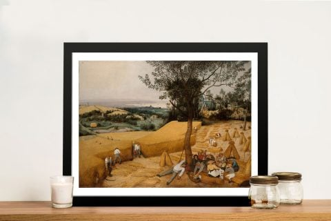 Buy The Harvesters Discount Wall Art Online