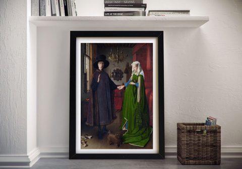 Arnolfini Portrait Wall Art Online
