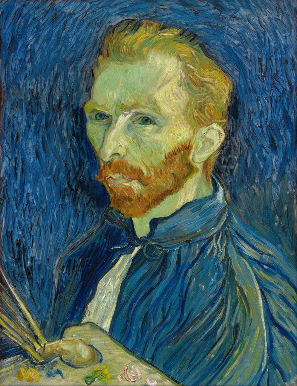 Vincent Van Gogh Classical Art Self Portrait Painting Prints Australia