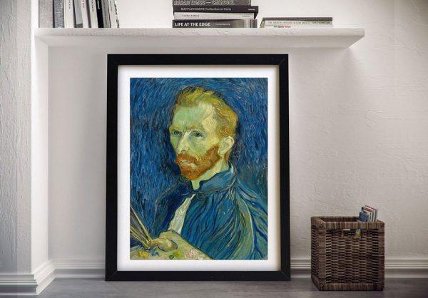 A Portrait By Van Gogh Classic Wall Art