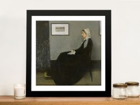 Whistlers Mother Cheap Canvas Prints