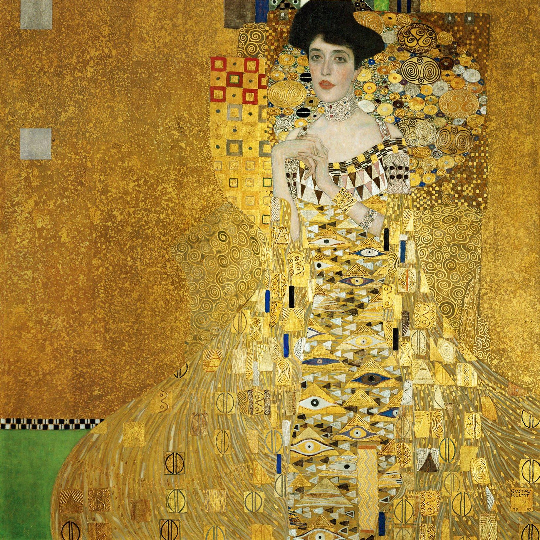 Adele by Gustav Klimt