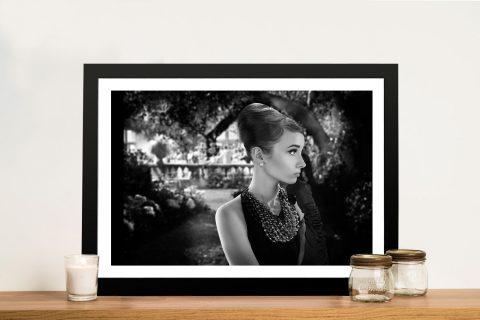 Audrey Hepburn Stunning Wall Art