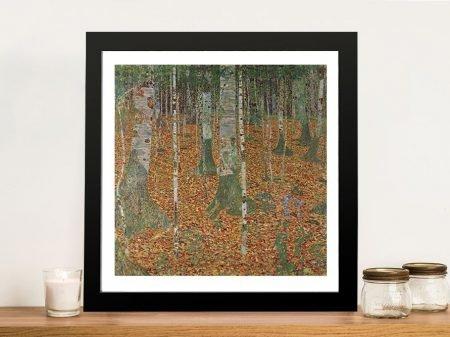 Birch Forest by Klimt Canvas Art