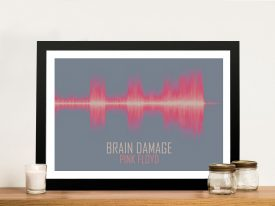 Brain Damage Soundwave Print