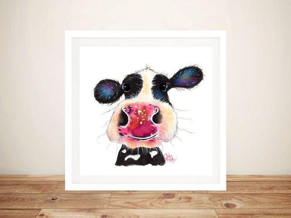 Bubbles Cheeky Cow Shirley MacArthur Artwork