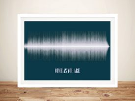 Come As You Are Soundwave Art