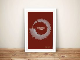 Comfortably Numb Dotted Beats Print