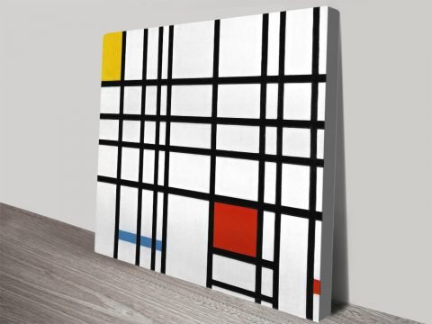 Composition With Red Yellow And Blue By Piet Mondrian Canvas Art Online