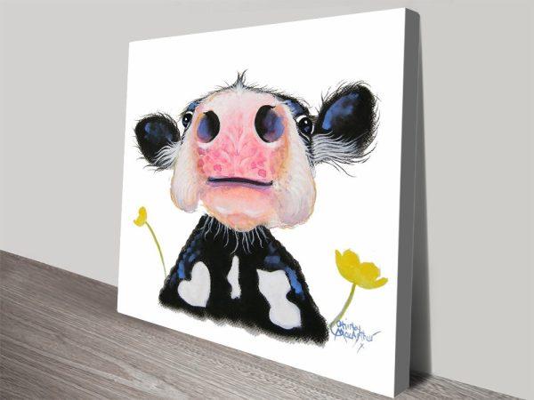 Buy Daffodil Canvas Wall Art By Shirley MacArthur
