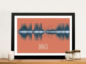 Dogs Soundwave Prints