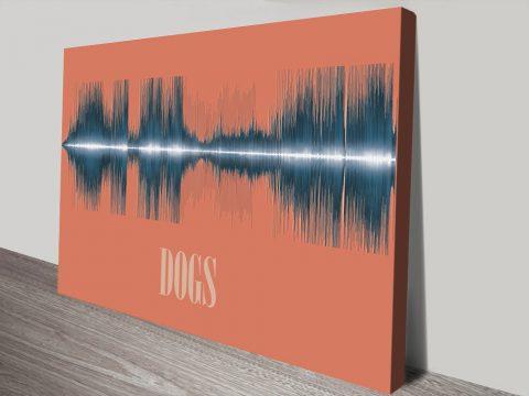 Dogs Soundwave Art Gift Ideas