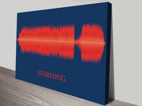 Everlong Foo Fighters Soundwave Gift Ideas