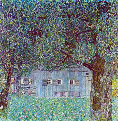 Buy Farmhouse in Upper Austria by Klimt Canvas Wall Art Australia