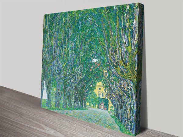 Avenue In The Park By Klimt Cheap Canvas Wall Art Kambah Canberra Australia