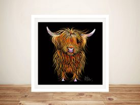 Humphrey Highland By Shirley MacArthur Canvas Art