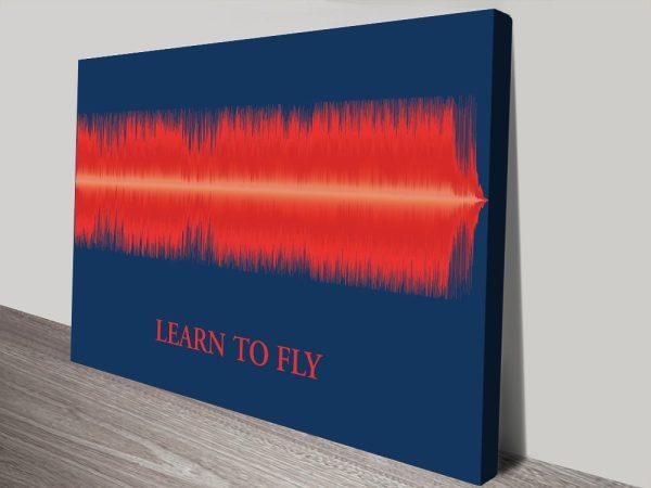 Personalised Soundwave Wall Art