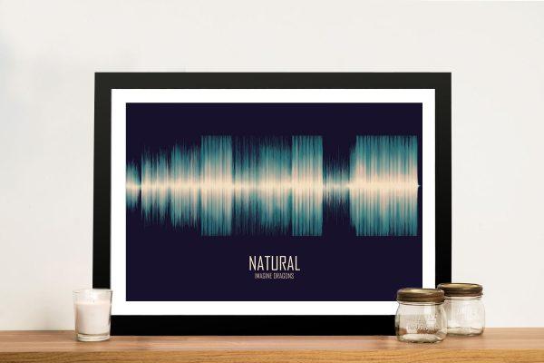 Natural Soundwave Wall Art